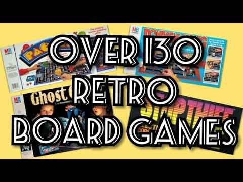 Over 130 Retro / Vintage Board Games