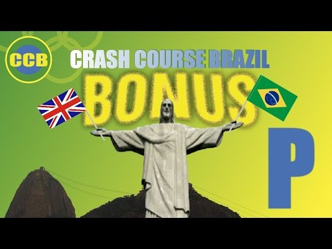 Portuguese for beginners; vocabulary : English words you can use in Brazil; letter P