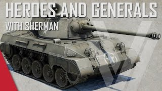 M18 Hellcat! - Heroes and Generals Gameplay (ft. The Shermanator)