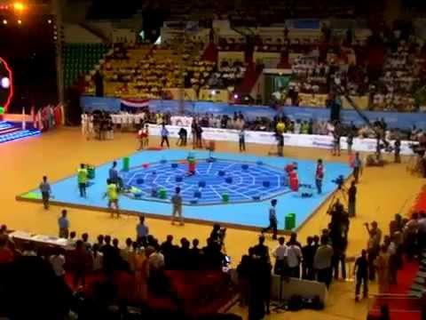 Robocon 2007 China vs Vietnam
