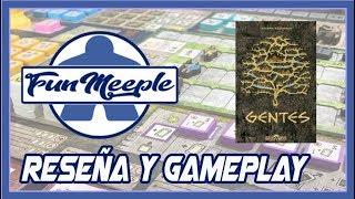 Gentes Edicion Delux Juego de Mesa Preparación cómo se juega y Gameplay Español