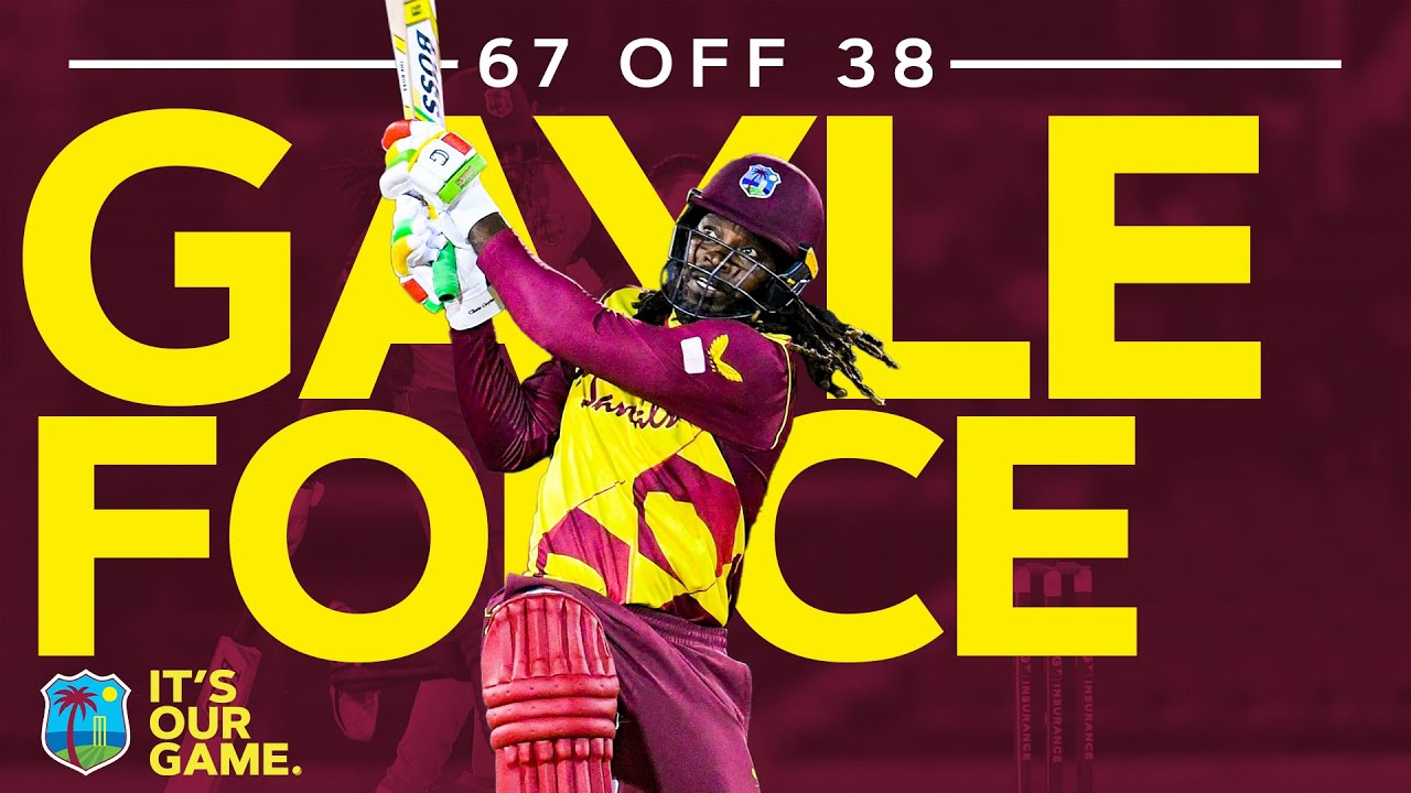 Gayle Force Against Australia!   Extended Highlights of 67 Off Just 38 Balls!   West Indies