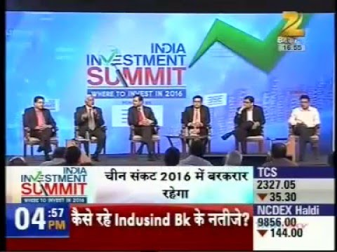 Mr. Anand Rathi- Chairman: India Investment Summit 2016