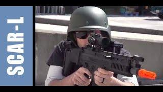 FN SCAR-L AEG Airsoft Gun - Review Dboys