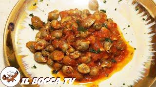 89 - Chioccioline di mare...anche il piatto è da leccare!(antipasto/secondo piatto semplice e buono)