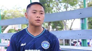 สัมภาษณ์ความพร้อมนักฟุตบอล สโมสร พัทยา ยูไนเต็ด u17