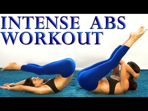 Killer Ab Challenge, Intense 20 Minute Extreme Abs At Home Workout For Women
