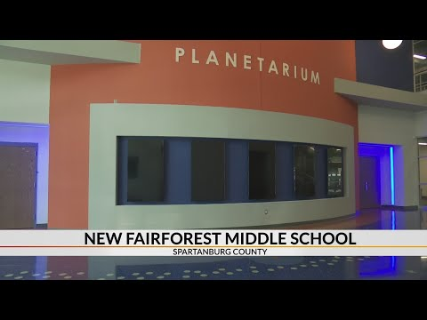 New Fairforest Middle School has 4K planetarium and science center