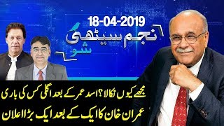 Historical Decisions of PM Imran Khan | Najam Sethi Show | 18 April 2019 | 24 News HD