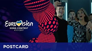 Postcard of Alma from France - Eurovision Song Contest 2017