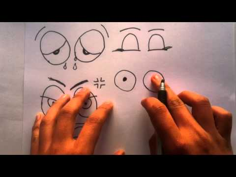 Dibujar Ojos Expresivos - Aprender A Pintar