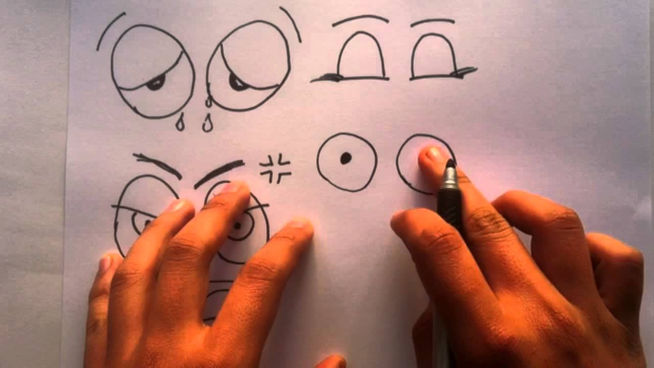 Dibujar ojos expresivos - Aprender a pintar - YouTube