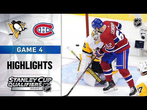 NHL Highlights | Penguins @ Canadiens, GM4 - Aug. 7, 2020