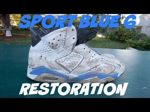 Sport Blue 6 Restoration