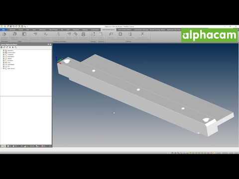 Input CAD | Alphacam 2018 R2