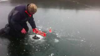 Unreel!! Crazy ice fishing Must see!!!!  Wisconsin Fishing Top 5