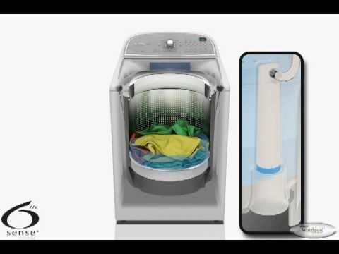 Whirlpool Cabrio Washer Load Sensing Youtube