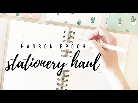 Stationery haul + review ⛅ | studytee