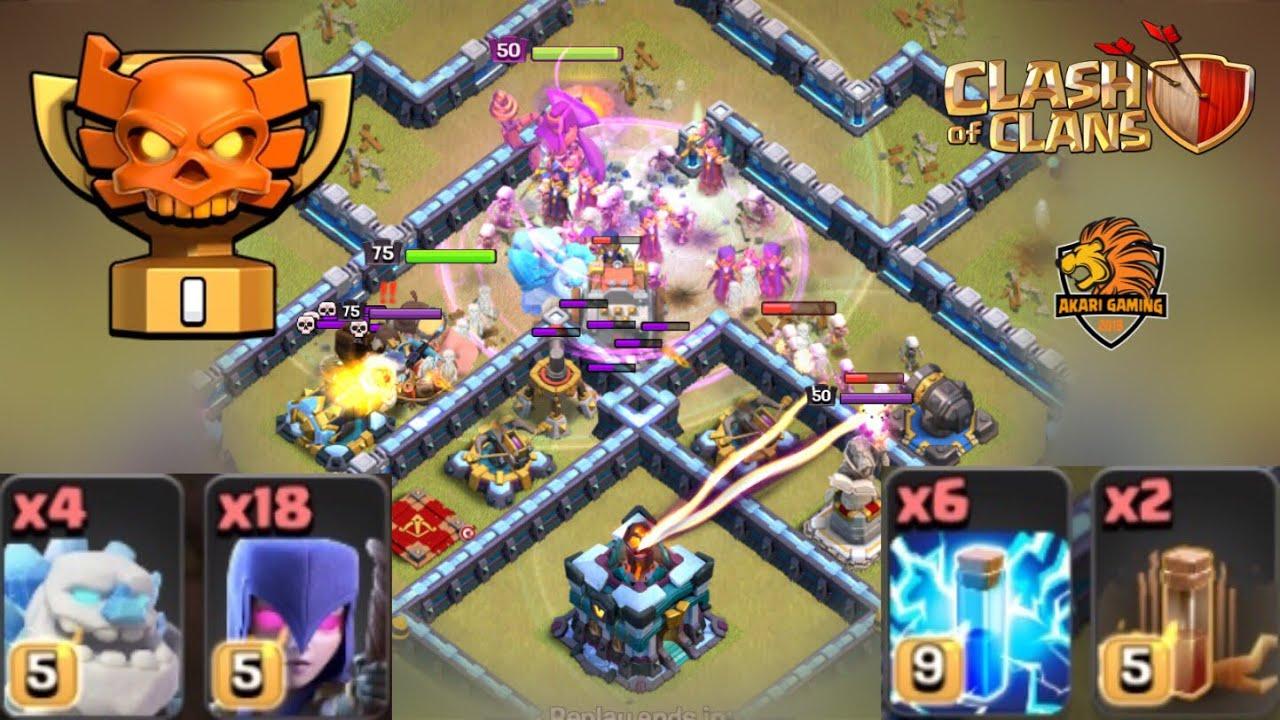 COMBO CỰC DỊ CHỈ TRUNG QUỐC MỚI NGHĨ RA TH13 ATTACK Clash of clans #5 | Akari Gaming