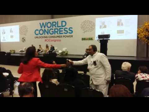 World Congress of Consumers at Brasil