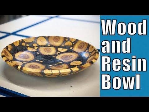 Make a Wood and Epoxy Bowl // Woodturning (Ep. 94)