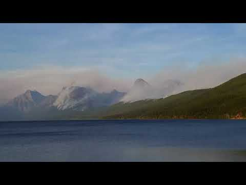 "Glacier National Park: Sprague Fire Update 09/10/17: ""Super Scoopers"" Dump 250,000 Gallons"