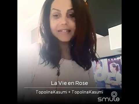thalia la vie en rose smule karaoke by kasumi topolina