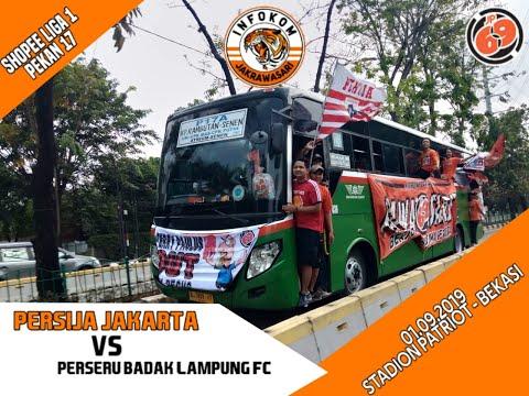 Jakmania Rawasari Semangatin Persija Vs Badak Lampung 1-9-2019