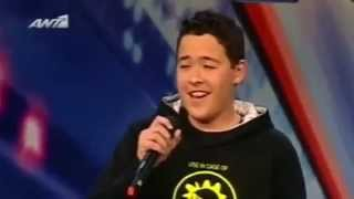 14 years old boy opera   Giorgos Ioannou   Greece got talent