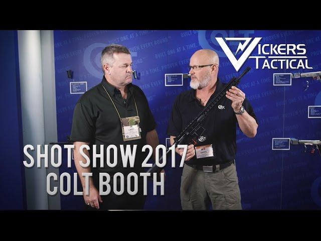 Shot Show 2017 - Colt Combat Unit Carbine