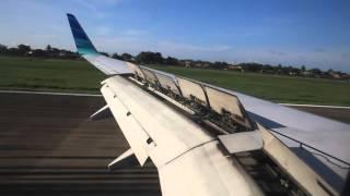 Pesawat Garuda Indonesia PK-GFU Mendarat di Runway 07L CGK