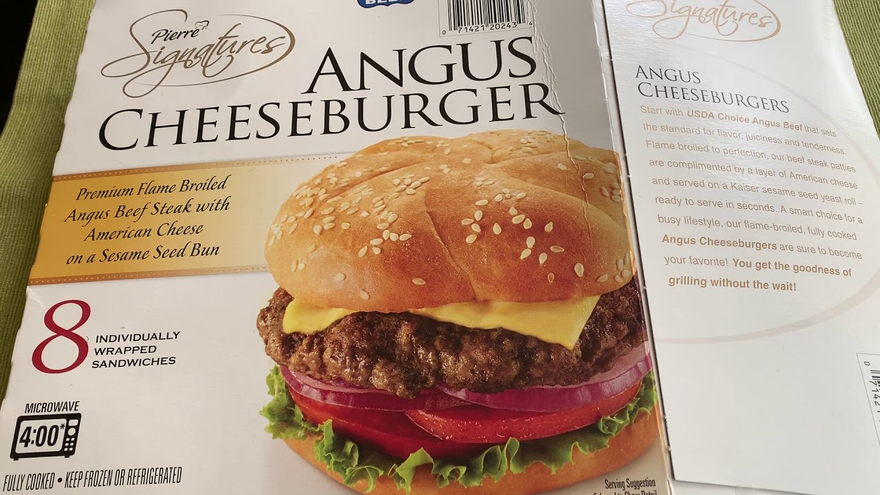 costco pierre signatures angus cheeseburger review