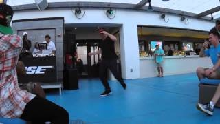 shuffle nyc x nes bose launch party performance trump taj mahal