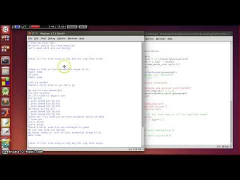 Lyrics Generator based on Markov Chains