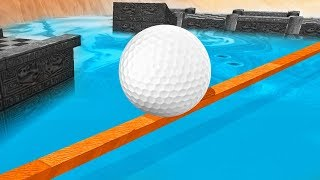 99% IMPOSSIBLE TIGHTROPE SHOTS! (Tower Unite Golf Funny Moments)