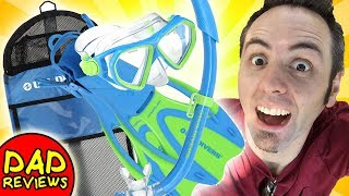 BEST SNORKEL GEAR FOR BEGINNERS | US Divers Snorkel Unboxing & First Look Review