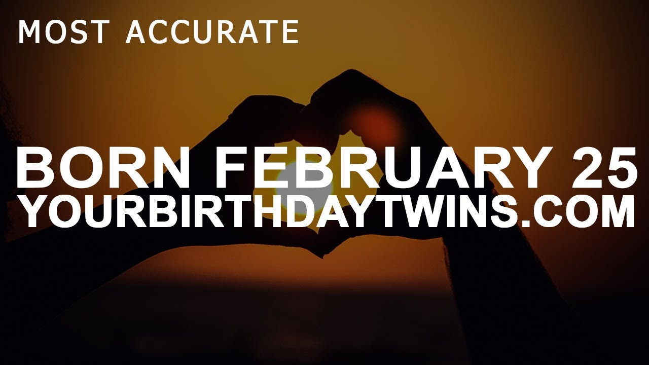 date of birth 25 february numerology number