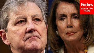JUST IN: John Kennedy angrily debates Ben Cardin, rips Pelosi