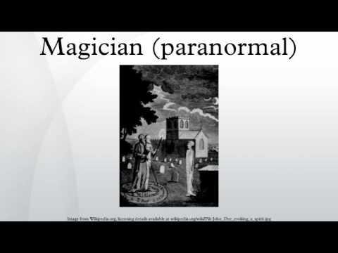 Magician (paranormal)