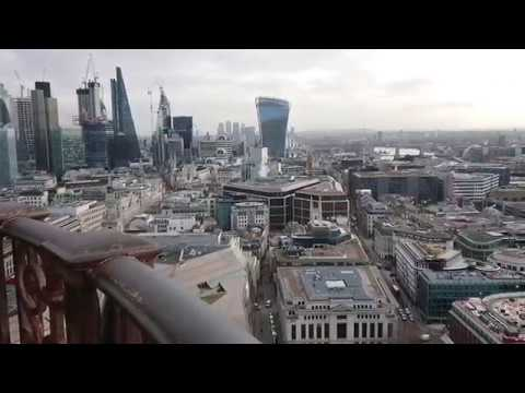 London panorama from St. Pauls Cathedral