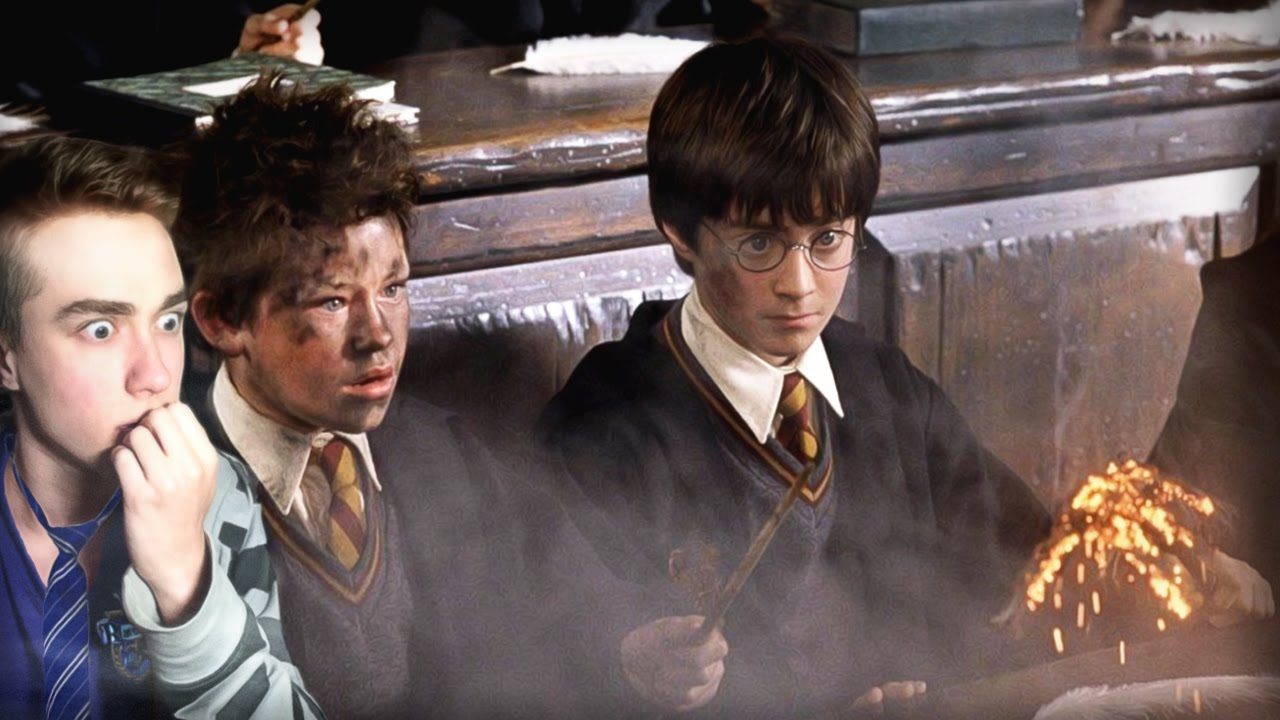 Хогвартс И ОПАСНЫЕ УРОКИ! Гарри Поттер и философский ...