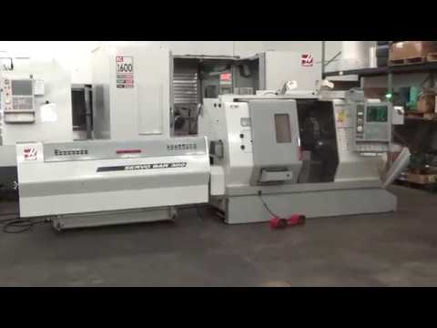 Haas TL-15 CNC Turning Center With Sub Spindle, Live Tooling On Turret For Sale At MachinesUsed.com