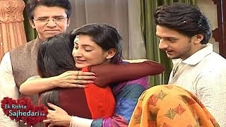 Ek Rishta Sajhedari Ka 12th January 2017 | Sanchi RETURNS HOME