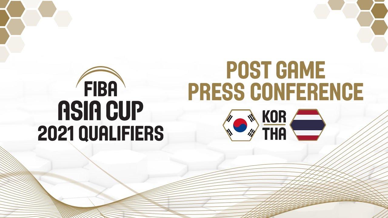 Korea v Thailand - Press Conference
