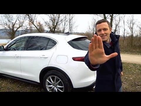 Jurnjava s guštom!  Alfa Romeo Stelvio - testirao Juraj Šebalj