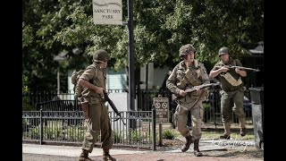 Relive WWII Reenactment 2018  - Taking Back City Hall