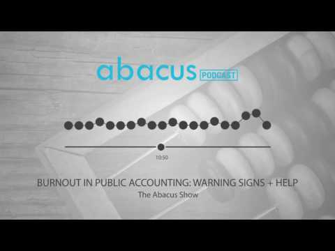 Burnout in public accounting. Warning Signs + How to get help