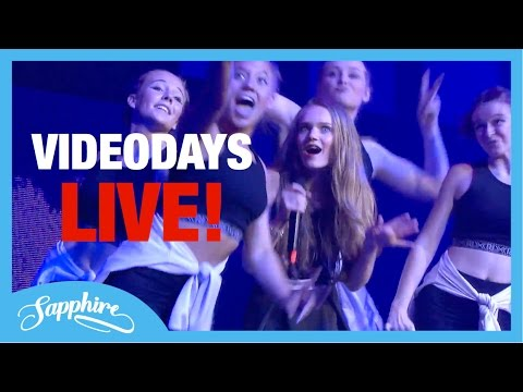 Faded / Let Me Love You / Black Magic / Into You - Sapphire LIVE at Videodays Cologne