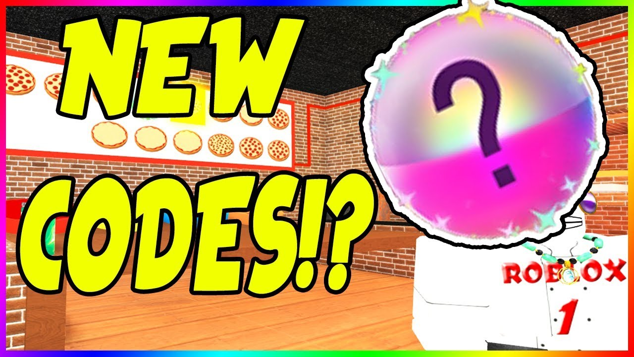 New Codes Update On Work At Pizza Place Roblox Youtube