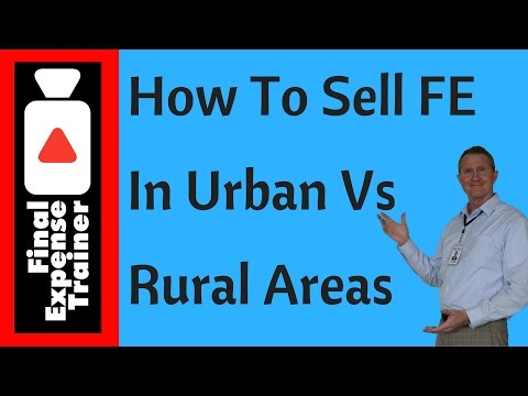How To Sell In Rural Vs Urban Areas